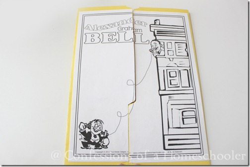 Alexander Graham Bell Coloring Page Craft or Poster, STEM ...