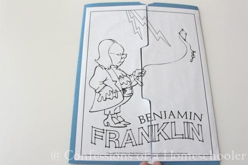 Benjamin Franklin Unit Study Confessions of a Homeschooler – Ben Franklin Worksheets