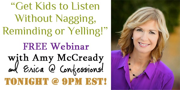 Get Kids to Listen WEBINAR TONIGHT!