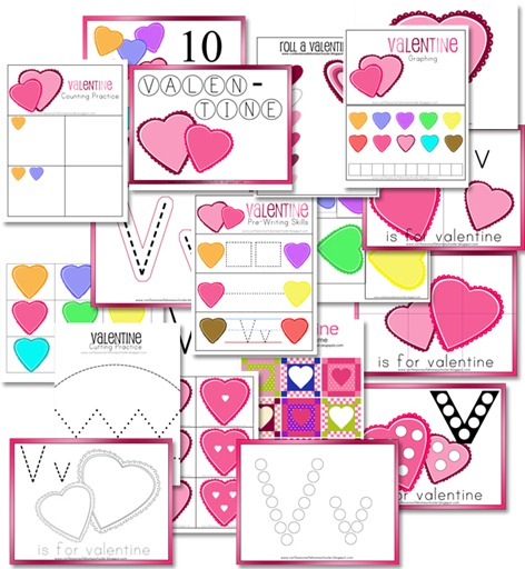 2016 Valentines Day Kids Activities - Confessions of a Homeschooler