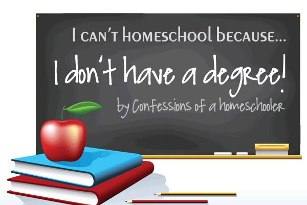 I Can't Homeschool Because…