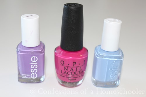Spring nail polish colors