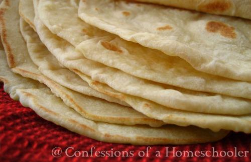 Homemade Whole Wheat & Flour Tortillas