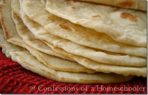 Homemade Whole Wheat & Flour Tortillas - Confessions of a Homeschooler