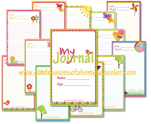 Summer Journaling Notebook