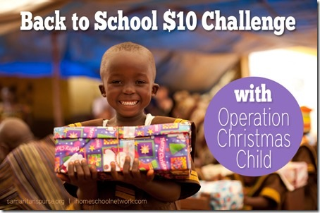 OCC $10 Back-to-School Challenge!