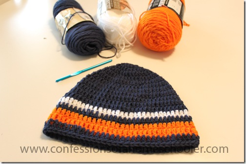 Crochet Beanie – Sports Team Colors
