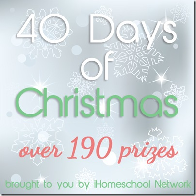 40 Days of Christmas Giveaways!