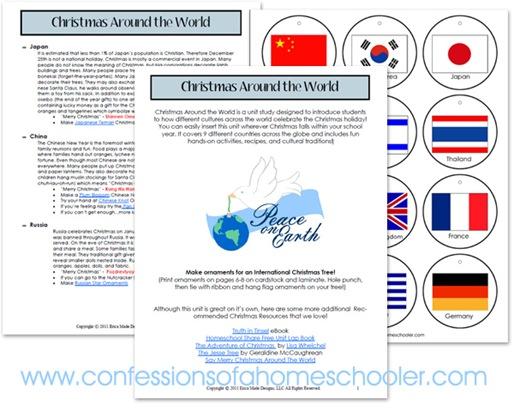 Christmas Around the World Unit Study