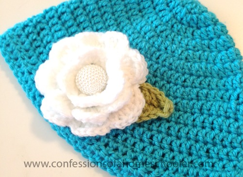 Crochet Flower Hat Tutorial
