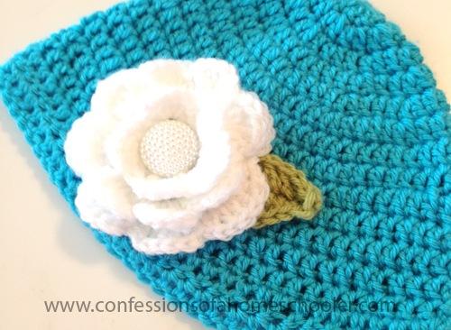 Crochet Flower Hat Tutorial