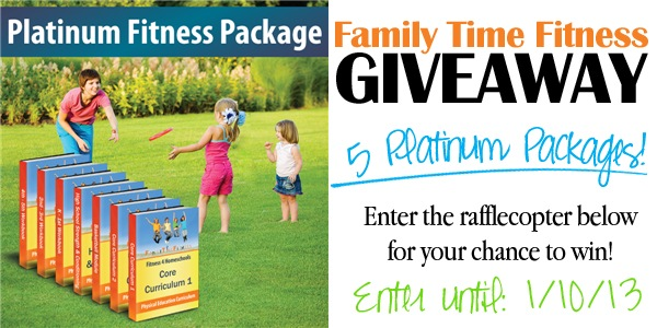 Family Time Fitness Giveaway