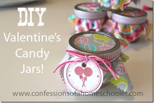 Today Weu0027re Going To Be Making These Super Cute Little DIY Valentineu0027s Day  Candy Jars.