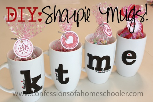 DIY Sharpie Mug Tutorial