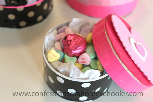 DIY: Valentine's Day Candy Box