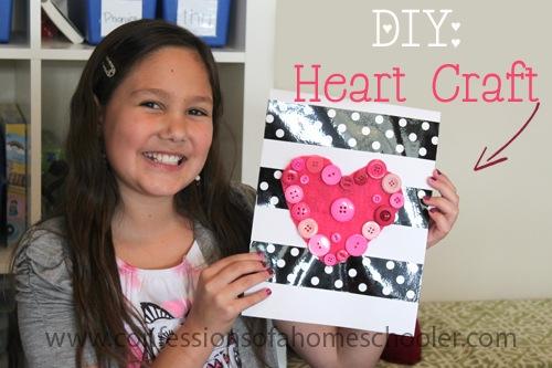 DIY: Valentine's Heart Craft Tutorial