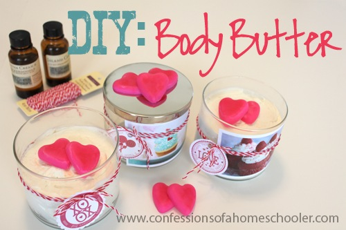DIY Valentine's Body Butter
