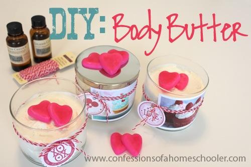 DIY Valentine's Body Butter