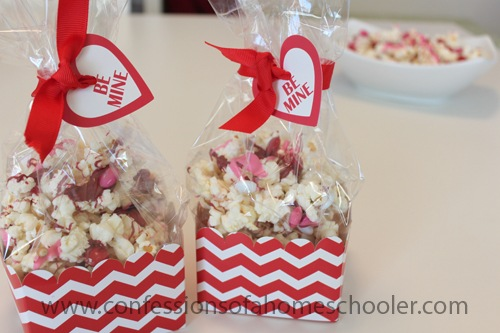 Valentine's Day Popcorn Recipe!