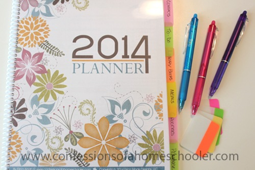 2014 Daily Planner! & Giveaway!