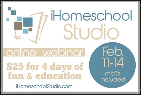 iHomeschool Studio Webinar Giveaway!
