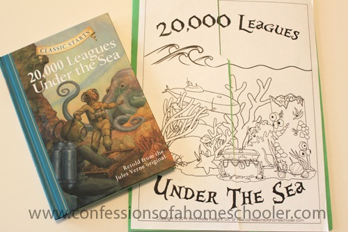 20,000 Leagues Under the Sea Unit Study