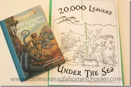 20,000 Leagues Under the Sea Unit Study - Confessions of a ...