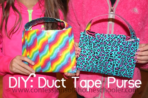 DIY: Duct Tape Purse Craft