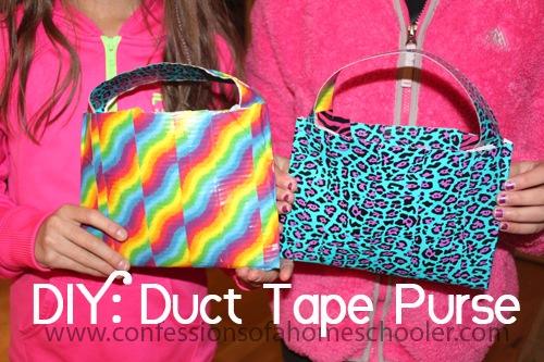 DIY: Duct Tape Purse Craft