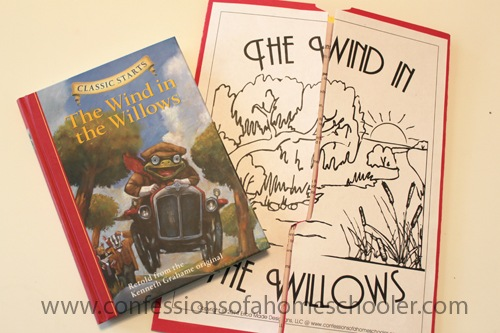 The Wind in the Willows Unit Study