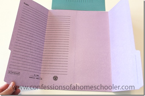 tri fold lapbook with flap pocket tutorial confessions of a