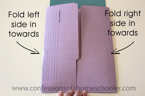 Tri Fold Lapbook With Flap Amp Pocket Tutorial Confessions