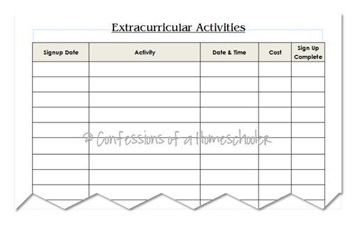 extraactivities