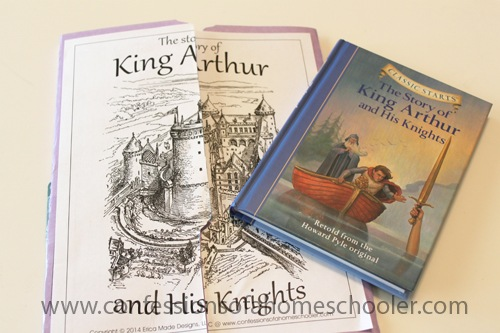 King Arthur & His Knights Unit Study