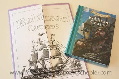 Robinson Crusoe Unit Study & Lapbook