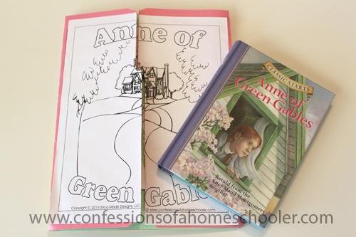 Anne of Green Gables Unit Study & Lapbook