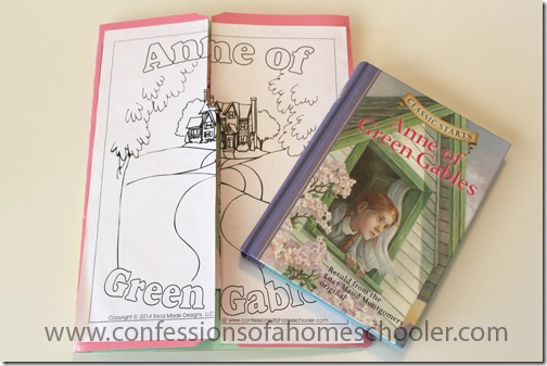 Study Guide For Anne of Green Gables: A Novel Literature Unit Study and Lapbook
