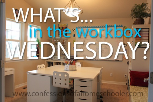 What's in the Workbox Wednesday 3rd Grade