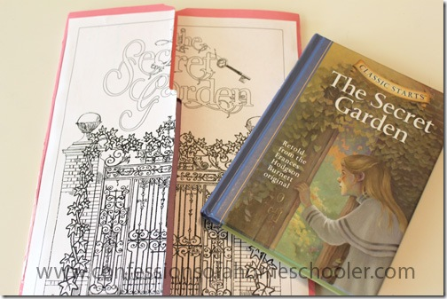 the secret garden lapbook and unit study confessions of a homeschooler rh confessionsofahomeschooler com Study Guide Questions NAB Study Guide PDF