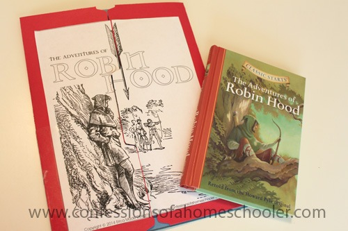 The Adventures of Robin Hood Literature Unit & Lapbook
