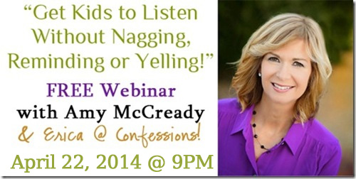 FREE Parenting Webinar with Amy McCready!