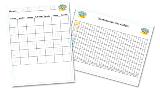 Preschool Daily Learning Notebook 2014-2015