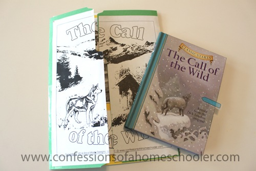 Call of the Wild Literature Unit Study & Lapbook