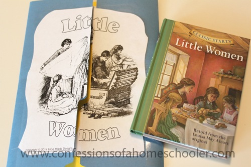 Little Women Literature Unit and Lapbook