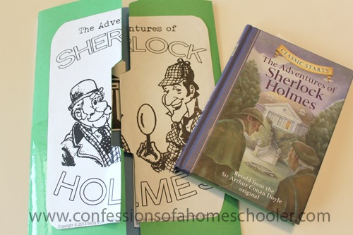 The Adventures of Sherlock Holmes Unit Study