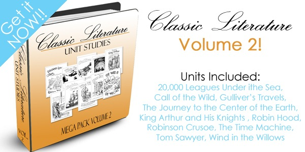 Classic Literature Volume 2 Mega Pack