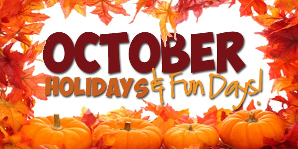October Holidays & Fun Days 2014