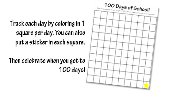 Number Names Worksheets blank 100 chart for kindergarten : Kindergarten Daily Learning Notebook - Confessions of a Homeschooler