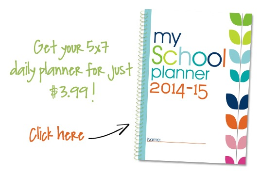 5×7 Student Lesson Planner Pages