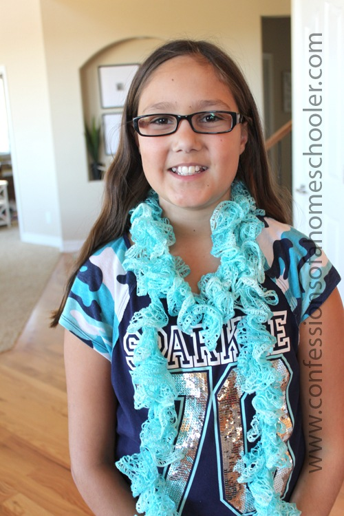 Sashay Scarf For Kids Confessions Of A Homeschooler